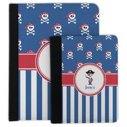 Blue Pirate Padfolio Clipboard (Personalized)