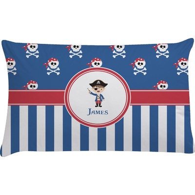 Blue Pirate Pillow Case (Personalized)
