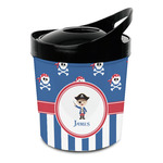 Blue Pirate Plastic Ice Bucket (Personalized)