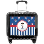Blue Pirate Pilot / Flight Suitcase (Personalized)