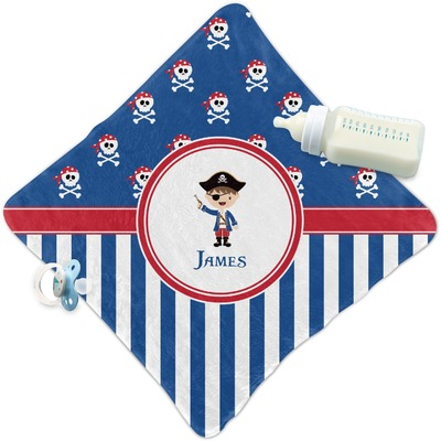 Blue Pirate Security Blanket (Personalized)