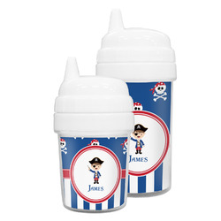 Blue Pirate Sippy Cup (Personalized)