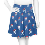 Blue Pirate Skater Skirt (Personalized)