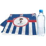 Blue Pirate Sports & Fitness Towel (Personalized)