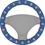 Blue Pirate Steering Wheel Cover (Personalized)