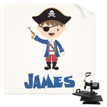 Blue Pirate Sublimation Transfer (Personalized)
