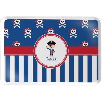 Blue Pirate Serving Tray (Personalized)