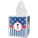 Blue Pirate Tissue Box Cover (Personalized)