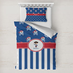Blue Pirate Toddler Bedding w/ Name or Text