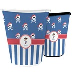 Blue Pirate Waste Basket (Personalized)