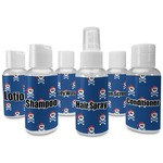 Blue Pirate Travel Bottles (Personalized)