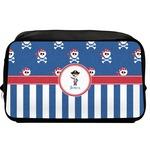 Blue Pirate Toiletry Bag / Dopp Kit (Personalized)