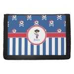 Blue Pirate Trifold Wallet (Personalized)