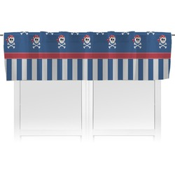 Blue Pirate Valance (Personalized)