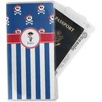 Blue Pirate Travel Document Holder
