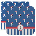 Blue Pirate Facecloth / Wash Cloth (Personalized)