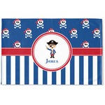 Blue Pirate Woven Mat (Personalized)