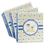 Boy's Space Themed 3-Ring Binder (Personalized)