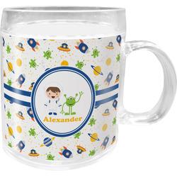 Boy's Space Themed Acrylic Kids Mug (Personalized)