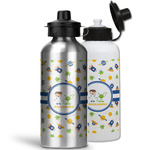 Boy's Space Themed Water Bottles- Aluminum (Personalized)
