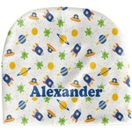 Boy's Space Themed Baby Hat (Beanie) (Personalized)
