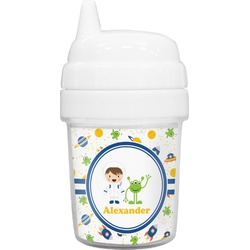 Boy's Space Themed Baby Sippy Cup (Personalized)
