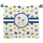 Boy's Space Themed Bath Towel (Personalized)
