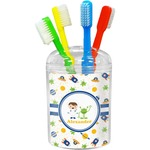 Boy's Space Themed Toothbrush Holder (Personalized)