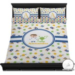 Boy's Space Themed Duvet Cover Set (Personalized)