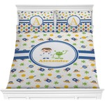 Boy's Space Themed Comforter Set (Personalized)