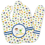 Boy's Space Themed Baby Bib w/ Name or Text