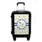 Boy's Space Themed Carry On Hard Shell Suitcase (Personalized)