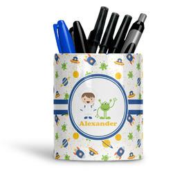 Boy's Space Themed Ceramic Pen Holder