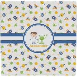 Boy's Space Themed Ceramic Tile Hot Pad (Personalized)