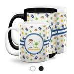 Boy's Space Themed Coffee Mugs (Personalized)