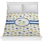 Boy's Space Themed Comforter (Personalized)