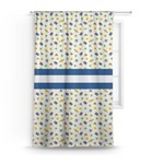 Boy's Space Themed Curtain (Personalized)