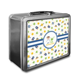 Boy's Space Themed Lunch Box (Personalized)