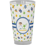 Boy's Space Themed Drinking / Pint Glass (Personalized)