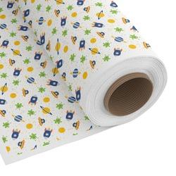 Boy's Space Themed Custom Fabric - Spun Polyester Poplin (Personalized)