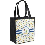 Boy's Space Themed Grocery Bag (Personalized)