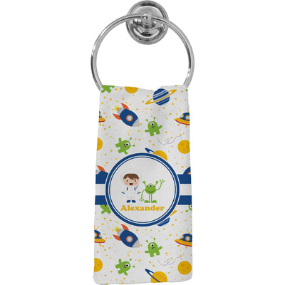 Boy's Space Themed Hand Towel - Full Print (Personalized)