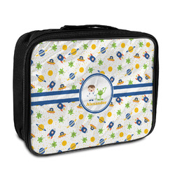 Boy's Space Themed Insulated Lunch Bag (Personalized)
