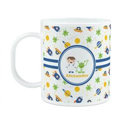 Boy's Space Themed Plastic Kids Mug (Personalized)