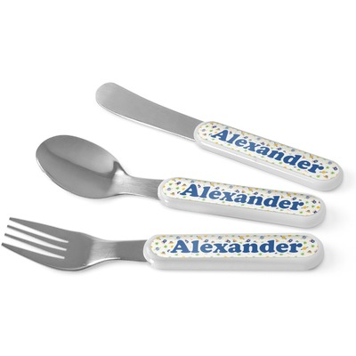 Boy's Space Themed Kid's Cutlery (Personalized)