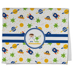 Boy's Space Themed Kitchen Towel - Full Print (Personalized)