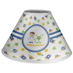 Boy's Space Themed Coolie Lamp Shade (Personalized)