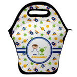 Boy's Space Themed Lunch Bag w/ Name or Text