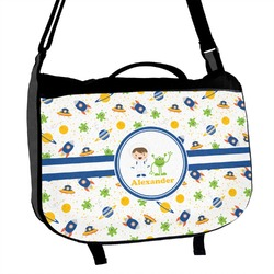 Boy's Space Themed Messenger Bag (Personalized)