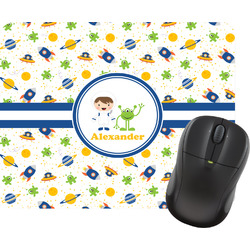 Boy's Space Themed Mouse Pad (Personalized)